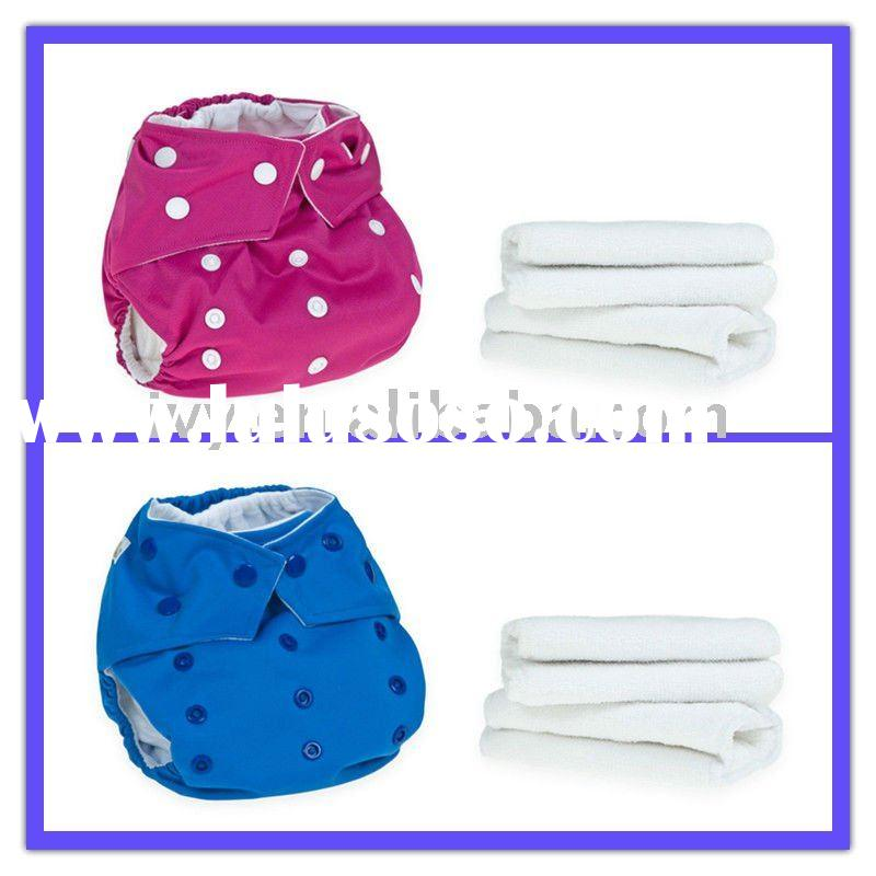 beautiful solid colour PUL baby cloth diaper