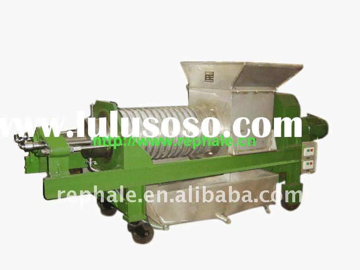 best sell stainless steel vegetable double screw extractor with capacity 1.5-10ton per hour