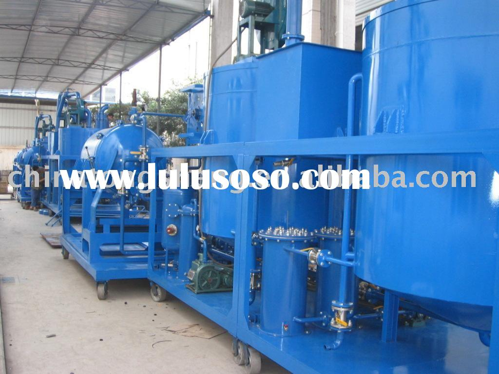 change black used engine oil to yellow new engine oil plant motor oil recycle machine--ZYD waste oil