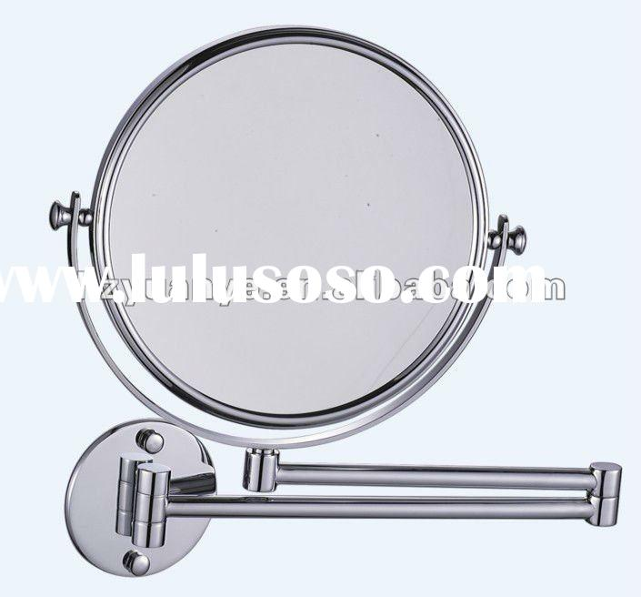 extendable bathroom mirror with maganification