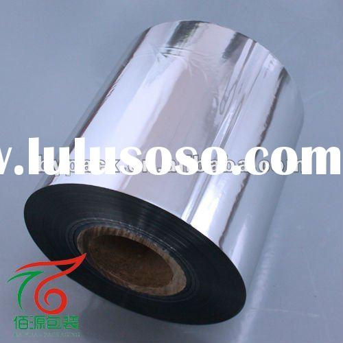 food grade laminated aluminum foil film for candy/food/cloth
