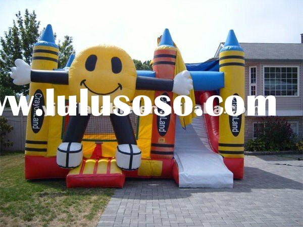 hot sale advertising fashion inflatable trampoline