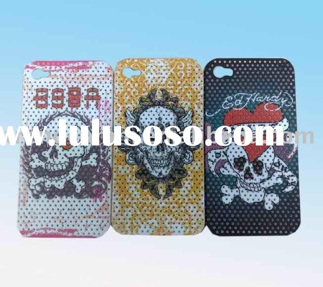 hot sell special printing mesh case for iphone 4g