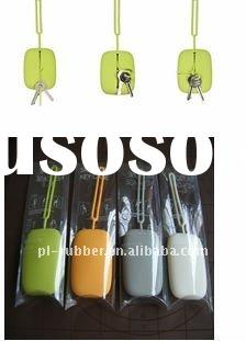 silicone purse holder for key and coin