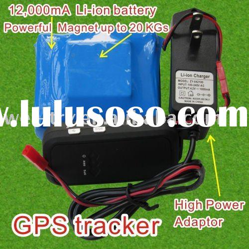 super long standby time vehicle GPS+GSM tracker with strong magnet+water proof(car locator)