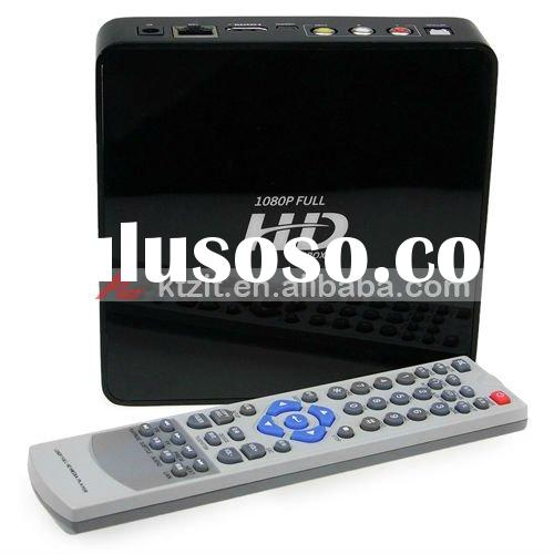 1080P Full HD 2.5 SATA HDD Wifi Network HDMI media Player With Supporting Network TV Streaming