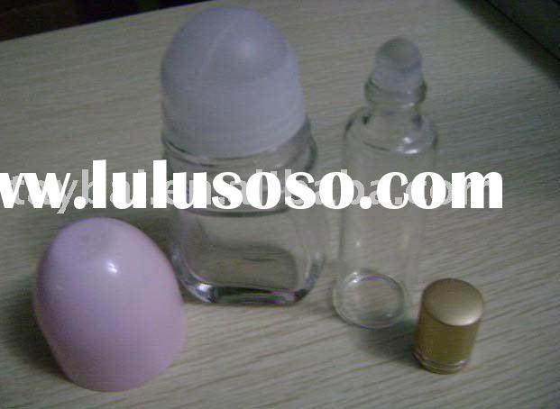 10ml Glass Roller ball bottle with plastic caps