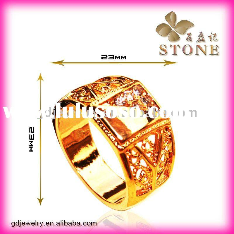 18K gold rings design for man with price