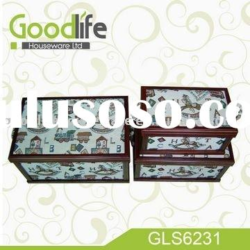 2011 Hot selling wood toy box