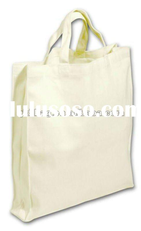 2011 lastest blank canvas tote bags