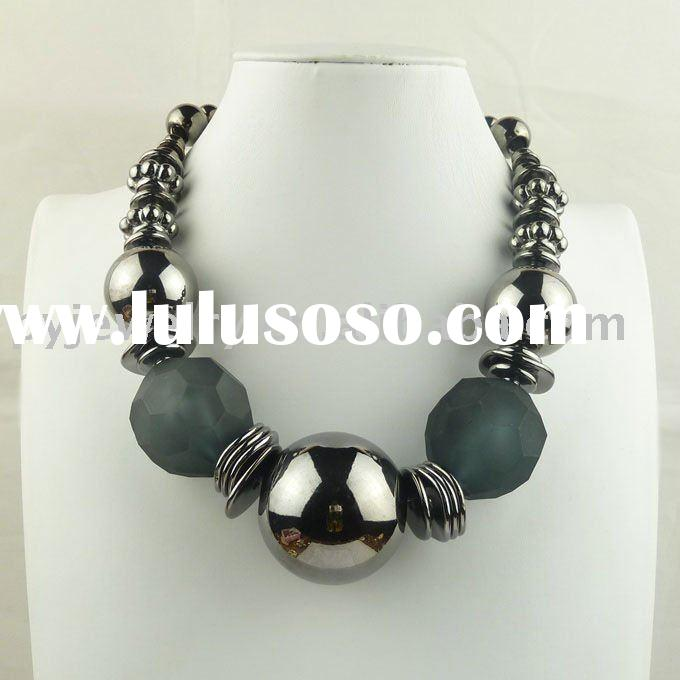 2011trendy best fashion newest wholesale alloy cheap necklace jewellery
