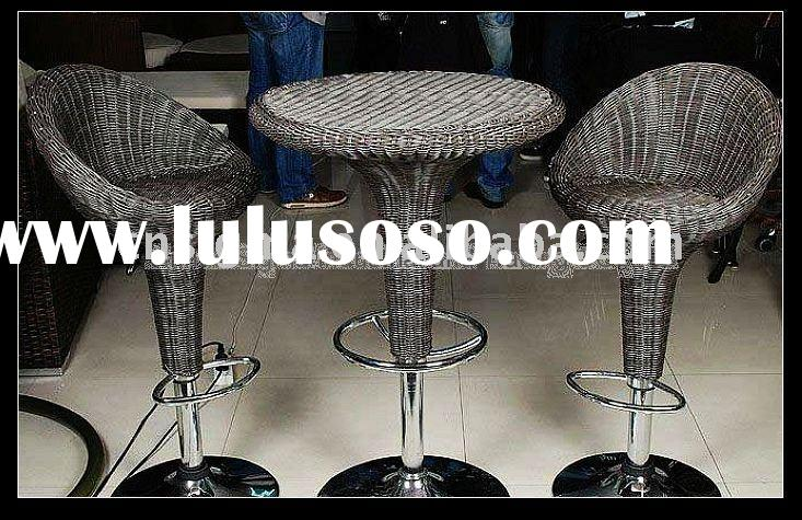 2012 Hot sale Modern outdoor rattan commercial furniture
