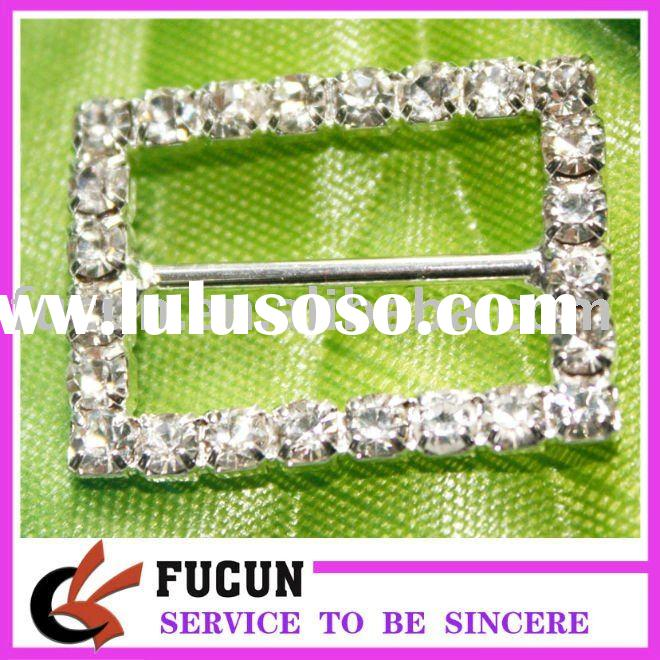 Rhinestone Slider Buckle For Wedding Invitation For Sale