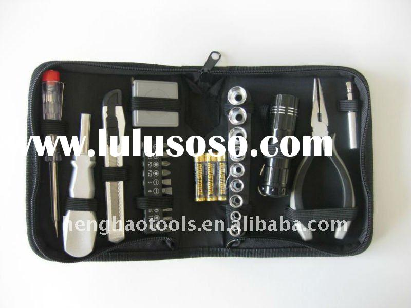 30pcs home owner's tool set,canvas bag tool kit
