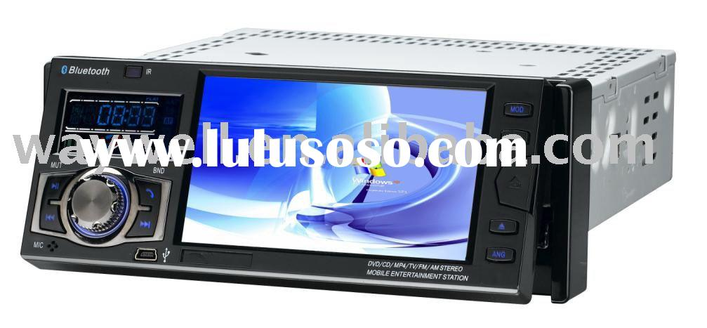 4.3 inch car DVD player GPS system with double screen