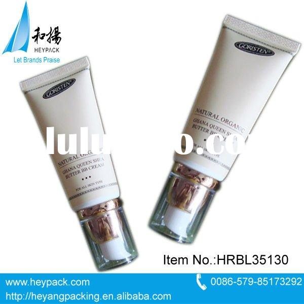 90ml plastic cosmetic airless tube with lotion pump