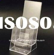 A4 clear acrylic perspex book holder or desktop box