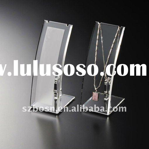 Acrylic Necklace Display, Acrylic Jewelry Display, Lucite Necklace Holder
