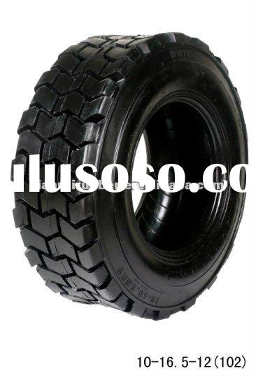 Anti-slip pattern design industrial tire size 10-16.5 fit forklift truck and tractor shovel