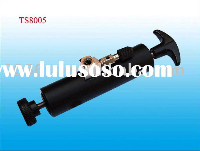 Black,hand-operated vacuum pump,TS8005