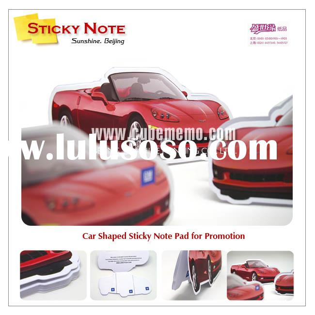 Custom sticky note memopad memo pad holder magnetic pad for sale price china manufacturer - Notepad holder for car ...