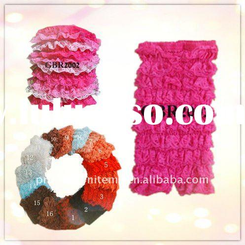 Colorful Ruffle Lace Petti Romper for children