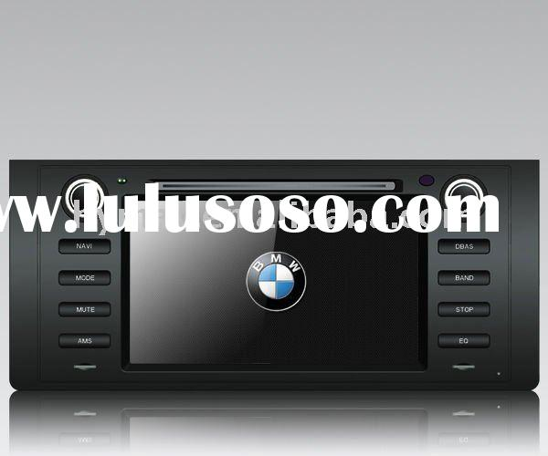 E39 7 inch 1 din car video dvd player with GPS