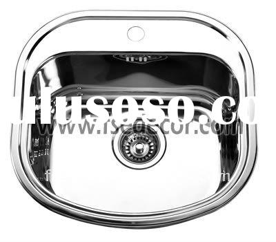 Easy cleaning Stainless Steel Kitchen Wash Sink basin bowl in one tank(FSE-SS-4947)