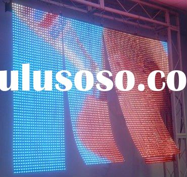 Flexible LED Curtain display P25