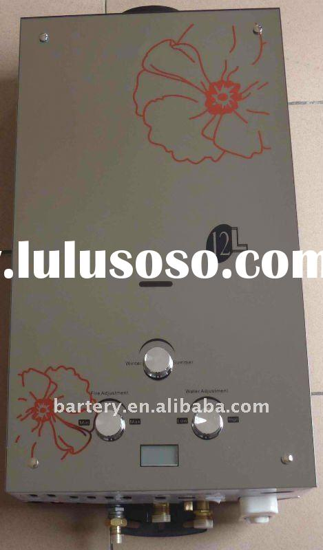 Glass Panel Instant Gas Water Heater/ Tankless Gas Geyser (6L-20L)