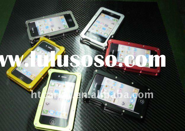 Hot selling jacket design aluminum case for iphone4/4s