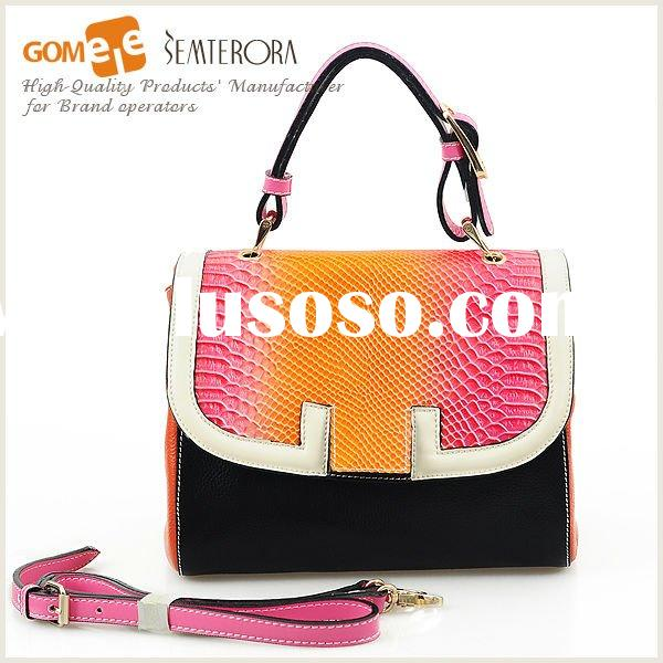 Leather Handbag,Lady Leather Bag,Professional leather goods' factory