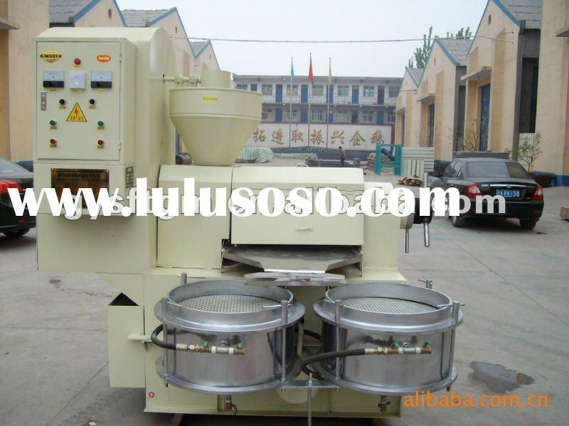 Long Time Supply Multi Function Screw Oil Press machine With Through CE Certification