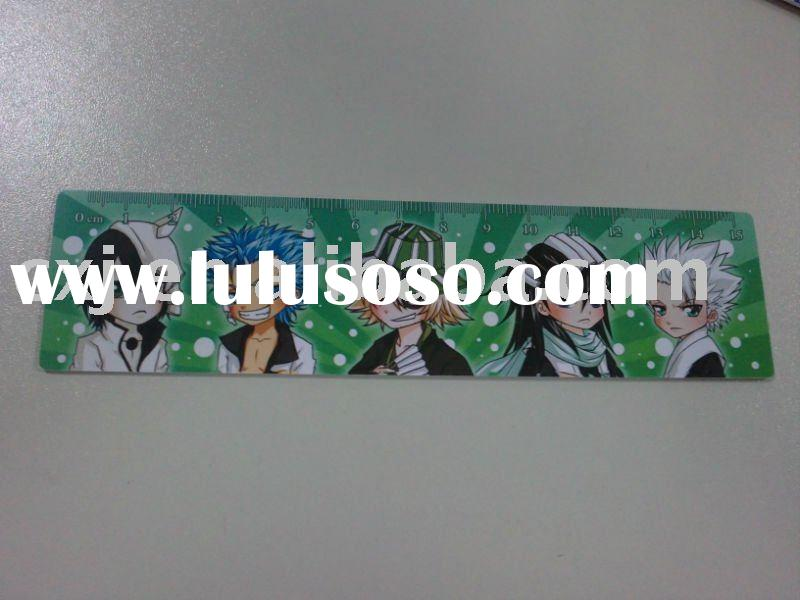 Made-in-china full color offset printing irregular PVC ruler
