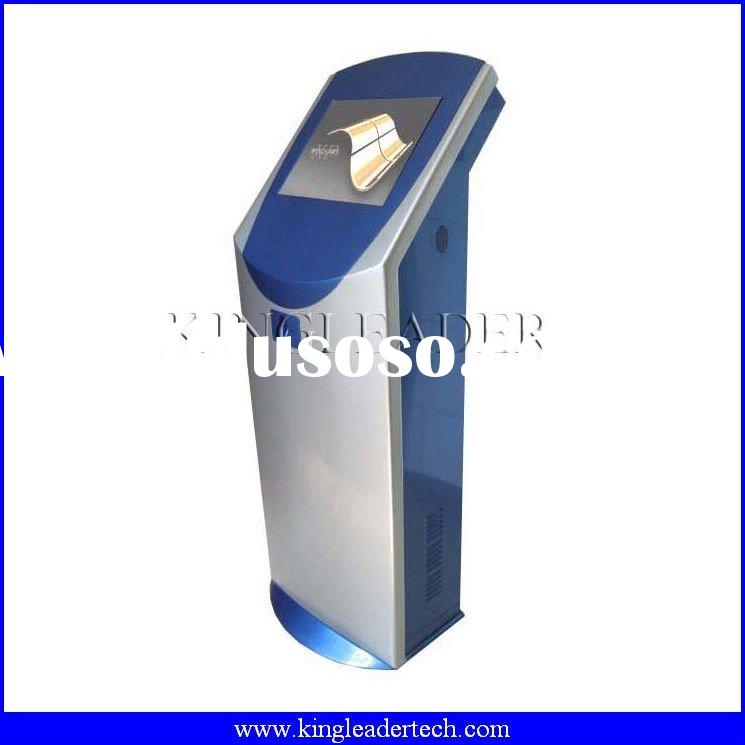 Payment terminal kiosk with chip cardreader