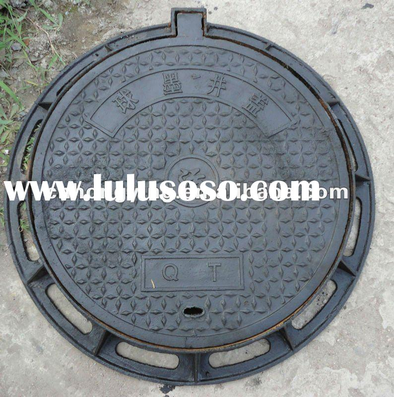 Round 500 ductile cast iron manhole cover