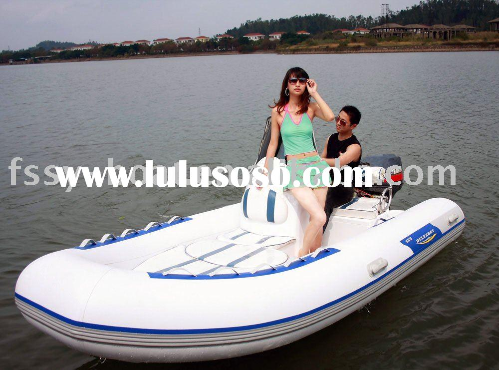 Sell 4.25 meter RIB boat(Rigid inflatable boat)