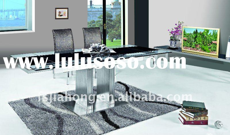 Stainless Steel Dining Table Base for expendable Tables