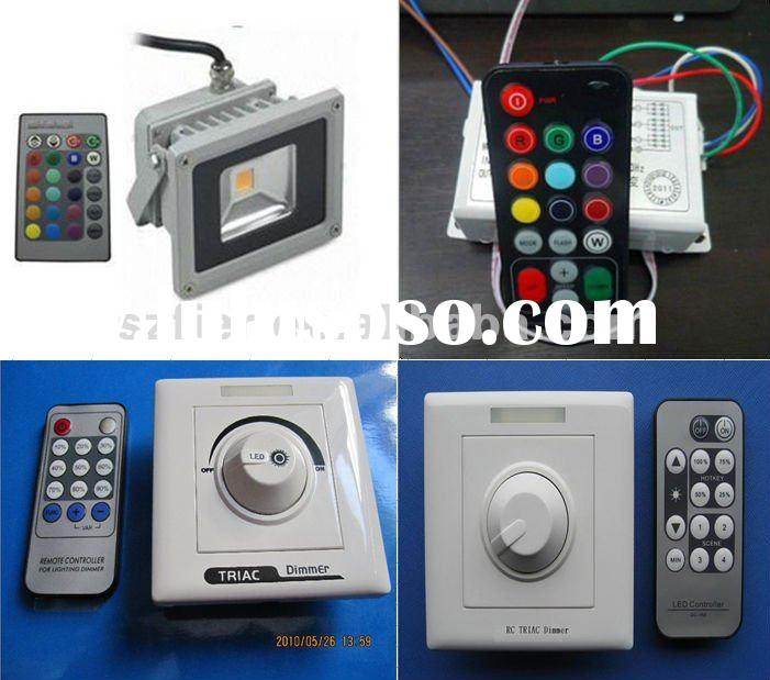 UL IP67 10W / 20w led flood remote control dimmer light switch RGB IR/triac dimmer controller/IR Sen