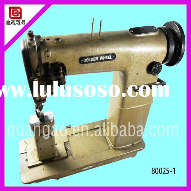 Used Golden Wheel Heavy Duty&Leather,Singer Needle Post Bed Sewing Machine