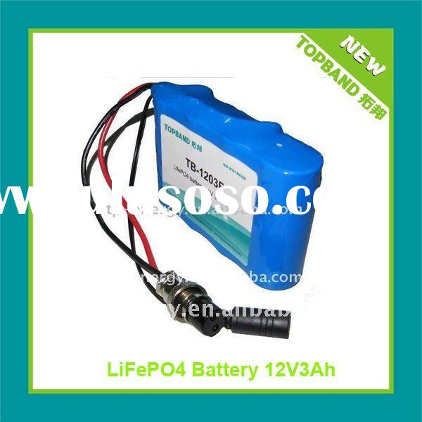 Wholesale Price Lithium Rechargeable 12V Battery pack for Emergency Lighting