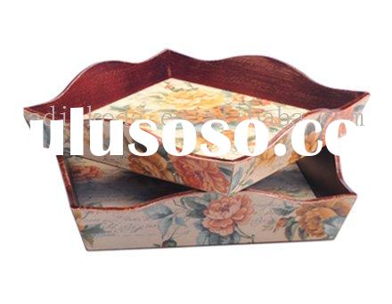 Wooden Craft Serving Tray