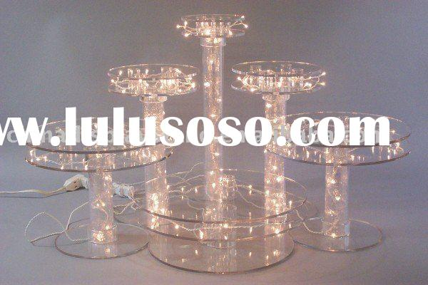 Acrylic Wedding Cake Fountain Stand For Sale Price China