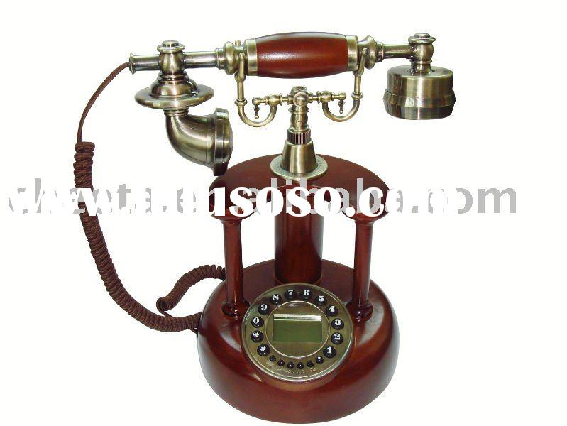 antique telephone,old style wooden telephone