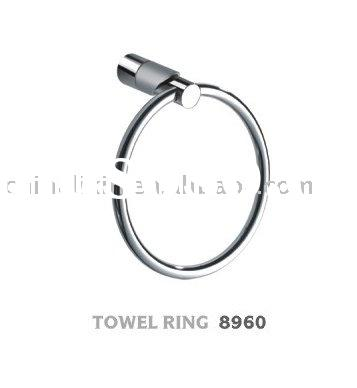 brass towel ring bathroom fitting