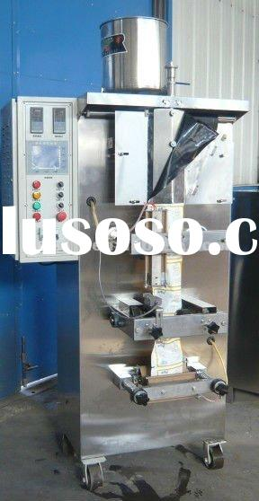 drinking milk and water pouch filling and sealing machine