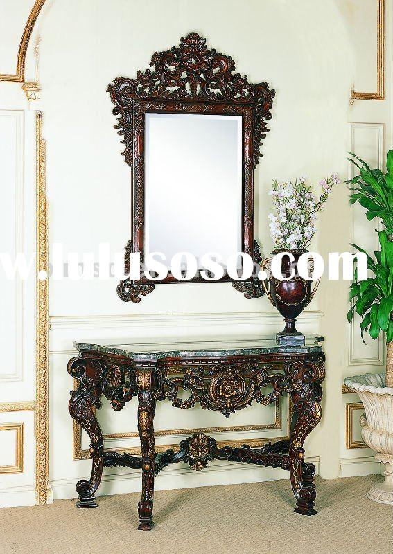 europen antique living room console table