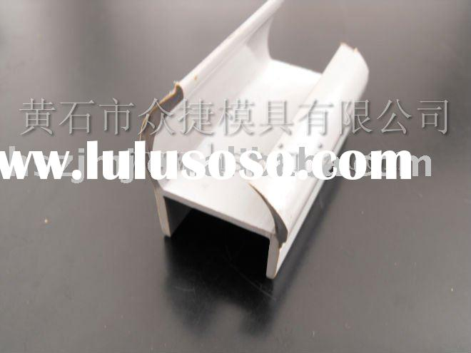 flexible plastic profile extrusion mold for trains and cars window glass sealing strip