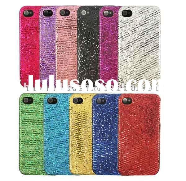 hard bling flashing case back cover for iphone 4