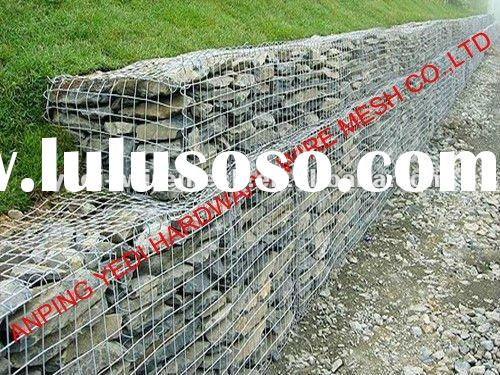 hot sale wire cages rock wall( factory)